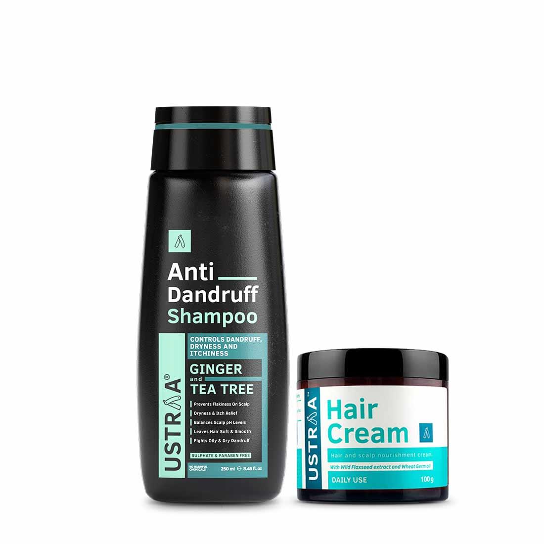 Anti Dandruff Hair Shampoo & Daily Use Hair Cream