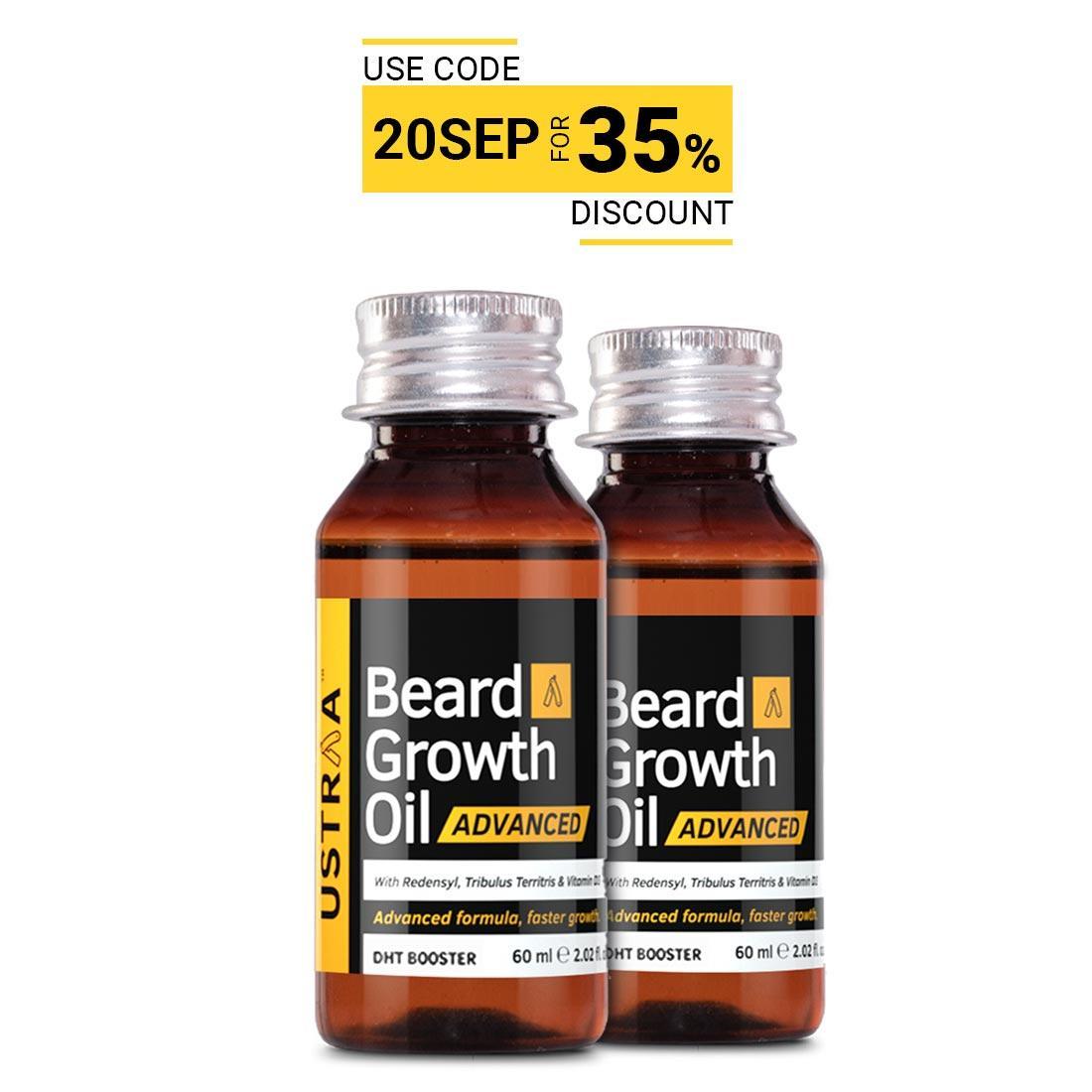 Beard Growth Oil- Advanced - Set of 2