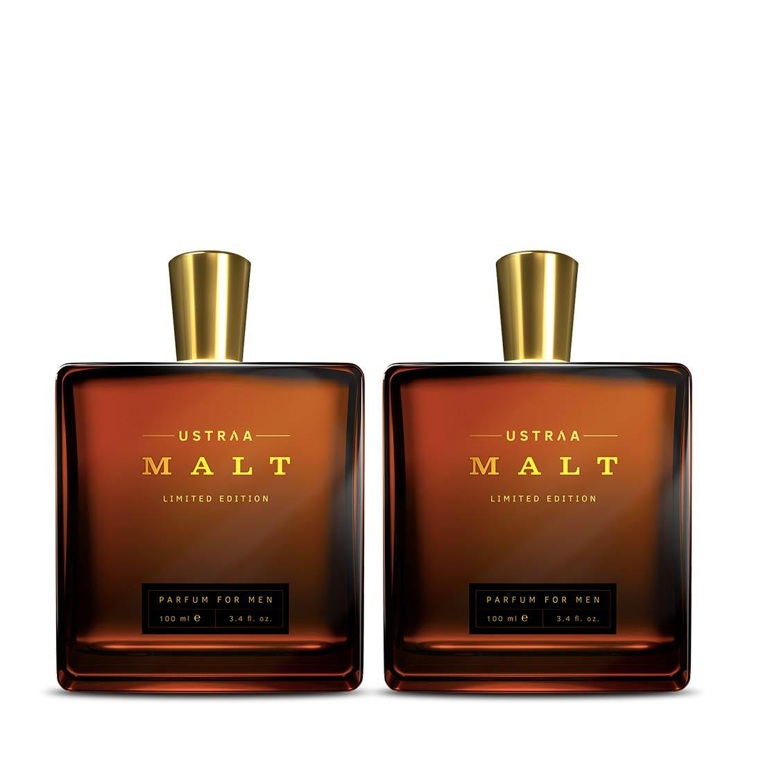 Ustraa Fragrance Bundle For Men: Malt Perfume (Set of 2)