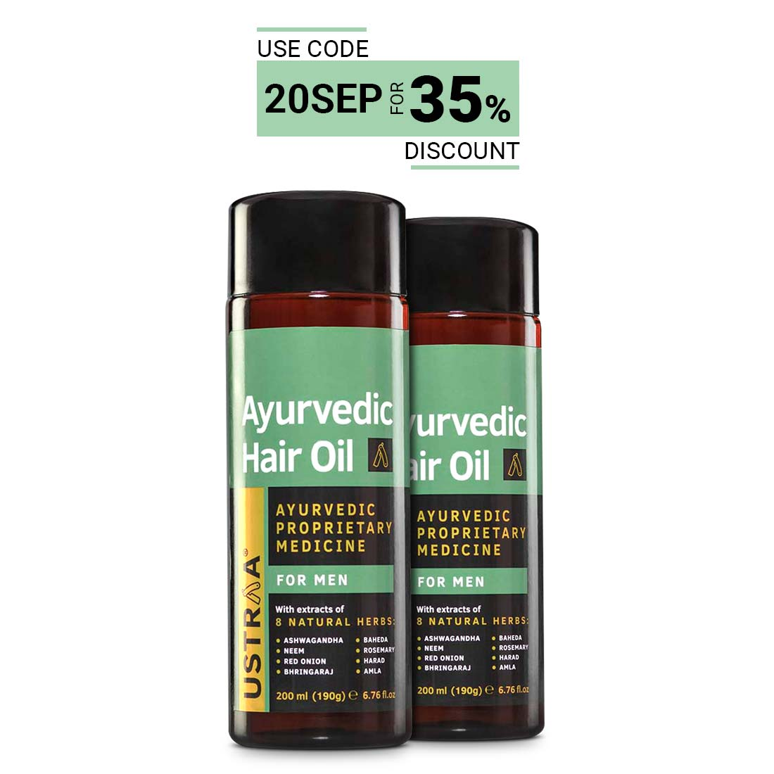 Ayurvedic Hair Oil - Set of 2