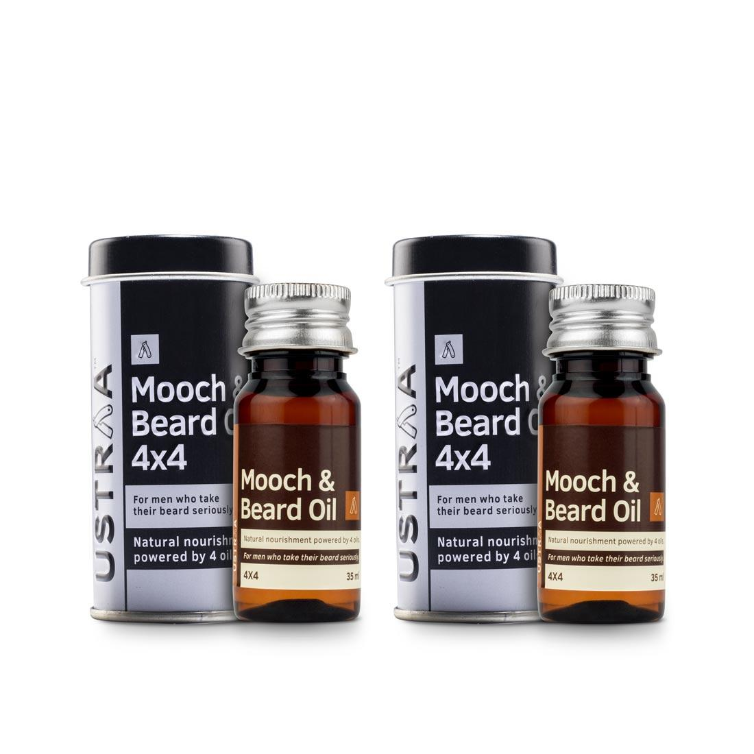 Beard & Mooch Oil 4x4 - Set of 2