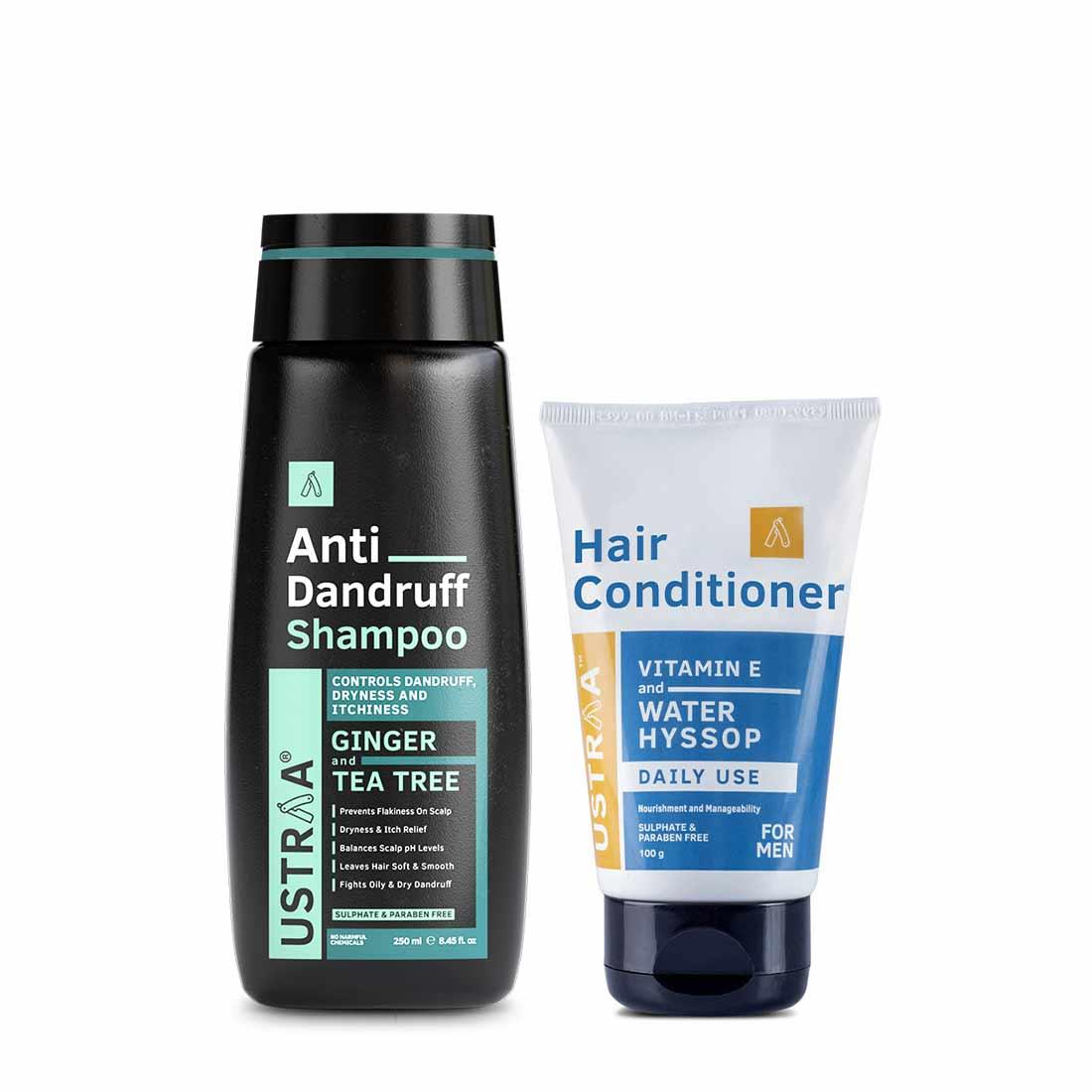 Anti-Dandruff Shampoo & Daily Use Hair Conditioner