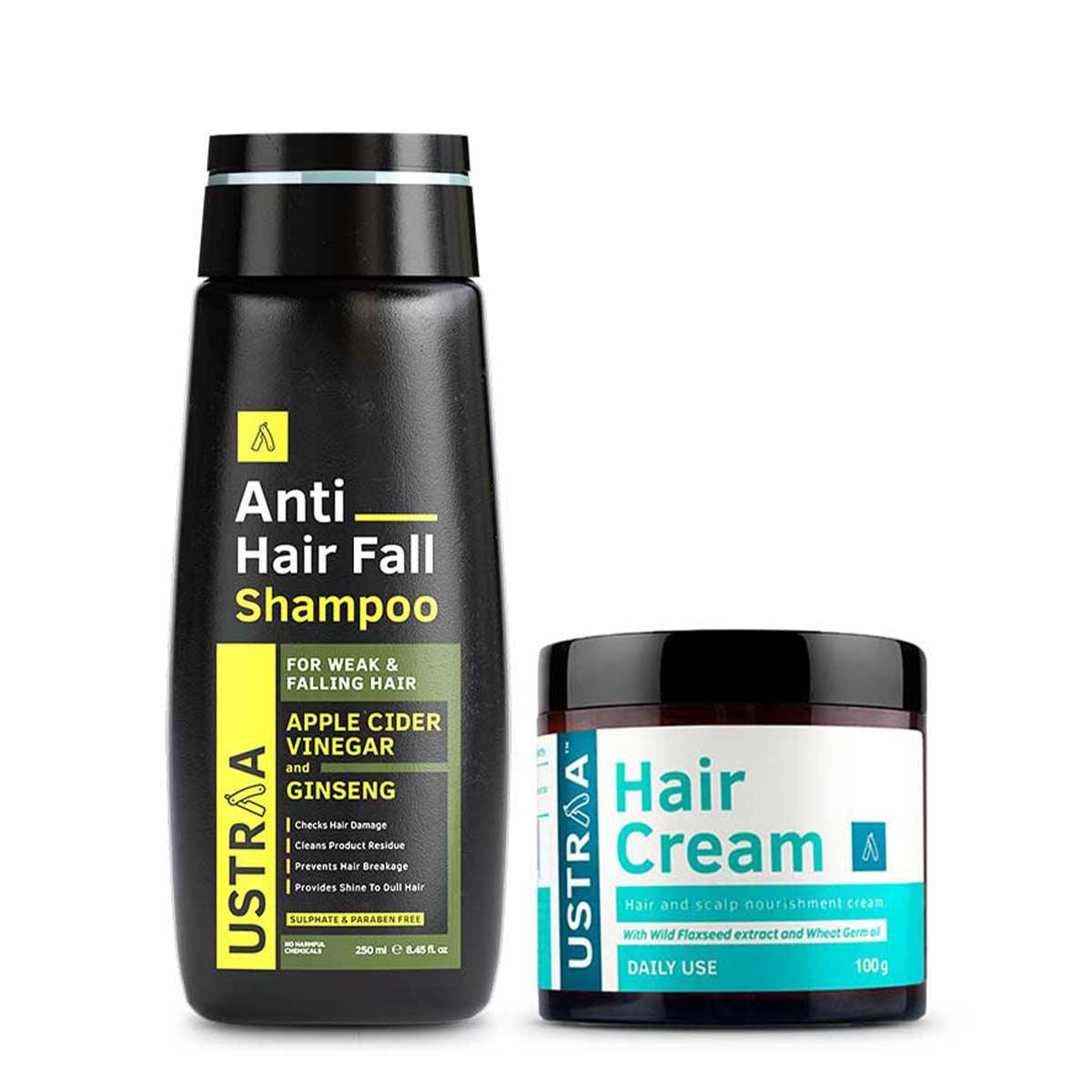 Anti Hair Fall Shampoo & Hair Cream