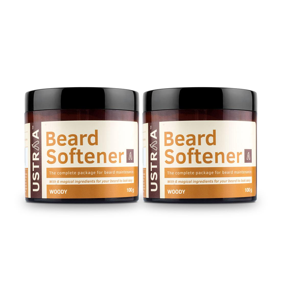 Beard Softener Woody - 100g - Set of 2