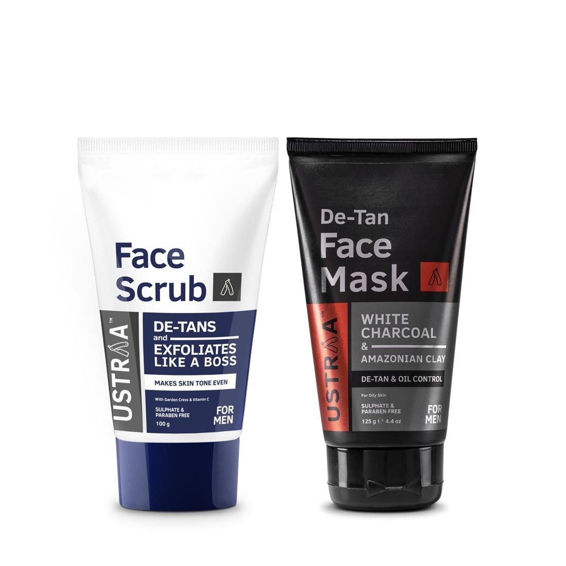 Tan Removal Pack- Oily Skin
