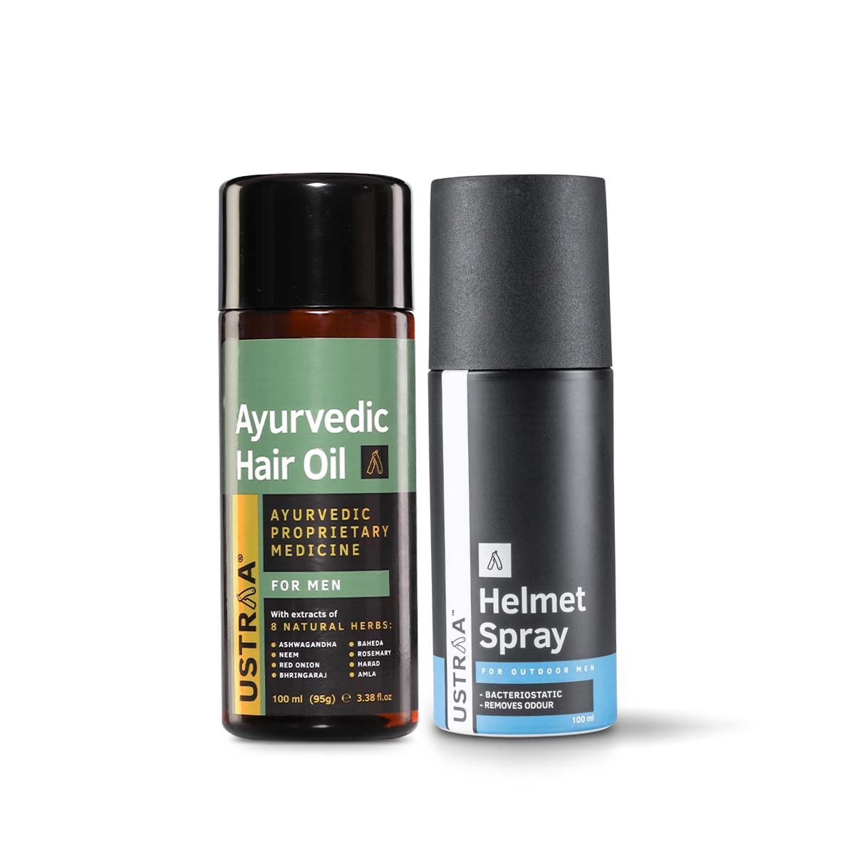 Ayurvedic Hair Oil & Helmet Spray
