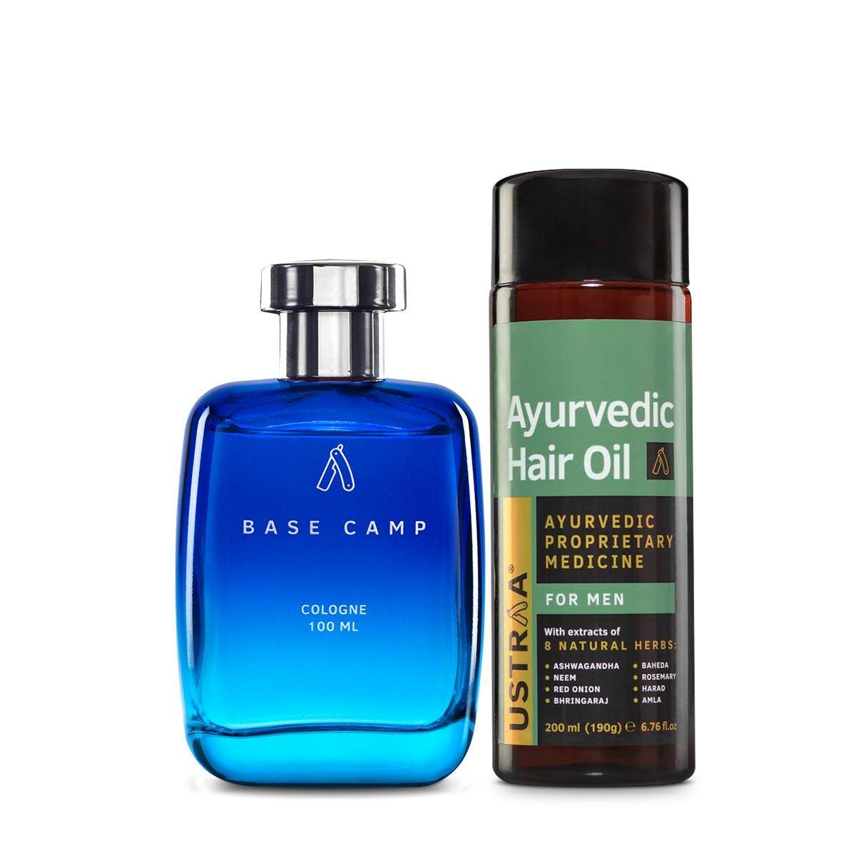 Ayurvedic Hair Oil & Cologne- Base Camp