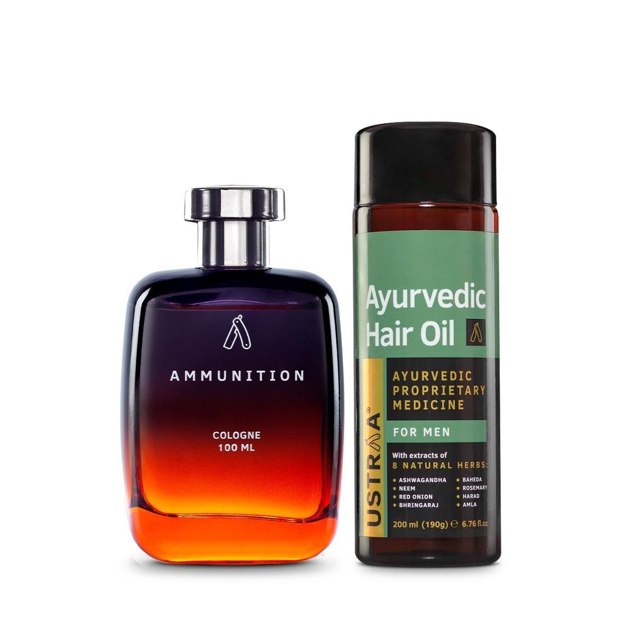 Ayurvedic Hair Oil & Cologne- Ammunition