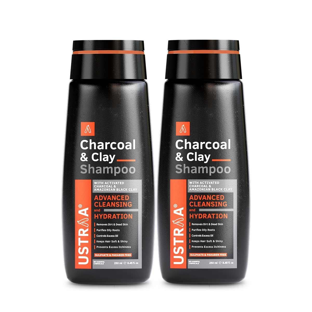 Charcoal & Clay Shampoo - Set of 2