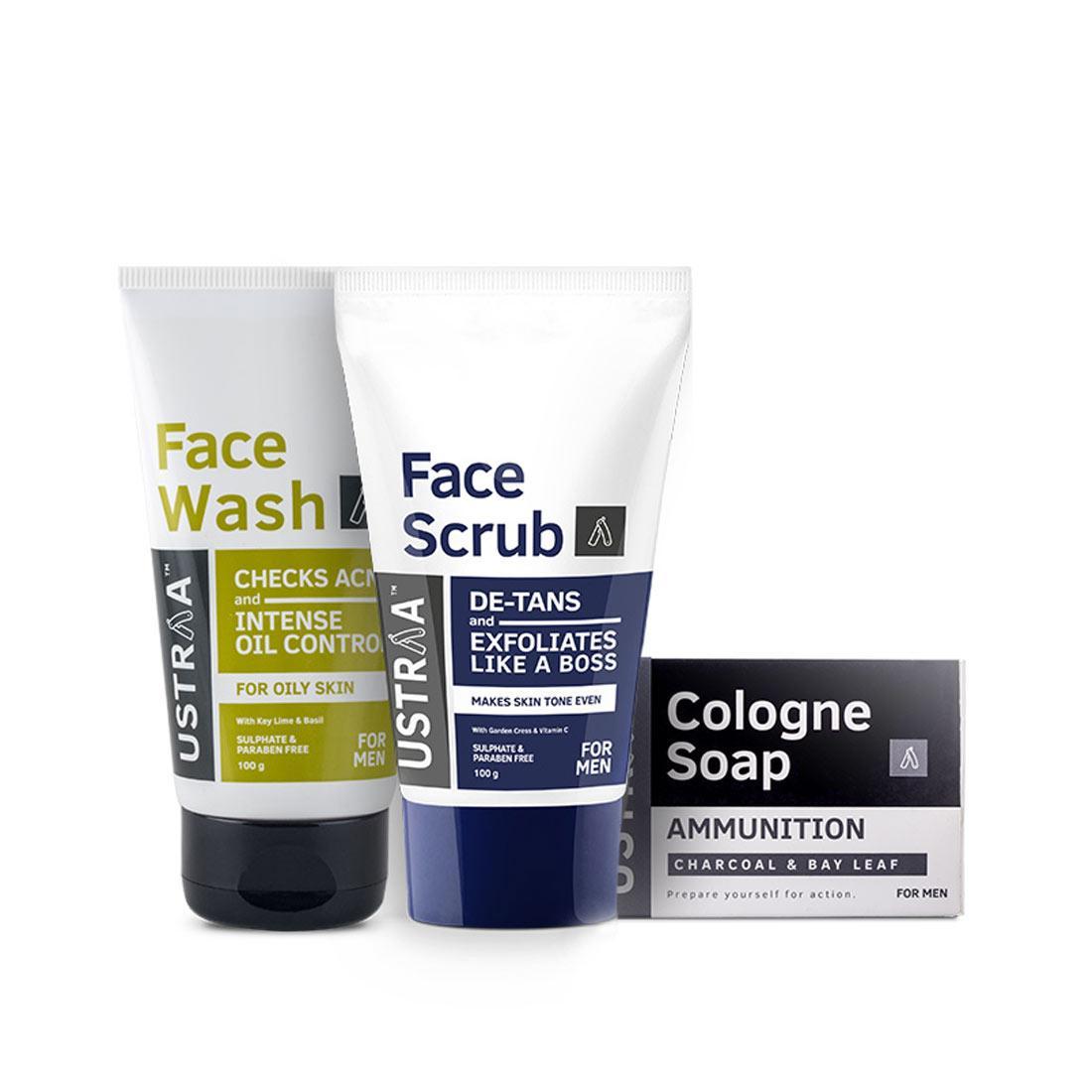 Face Wash - Oily Skin, Face Scrub & Soap - Ammunition