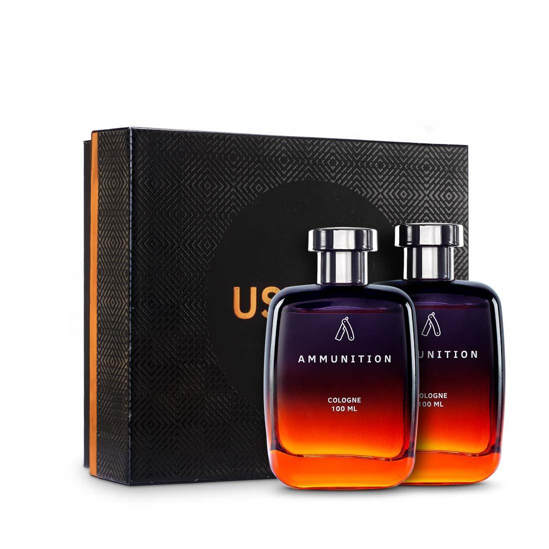 Fragrance Gift Box - Ammunition Cologne 100ml - Set of 2