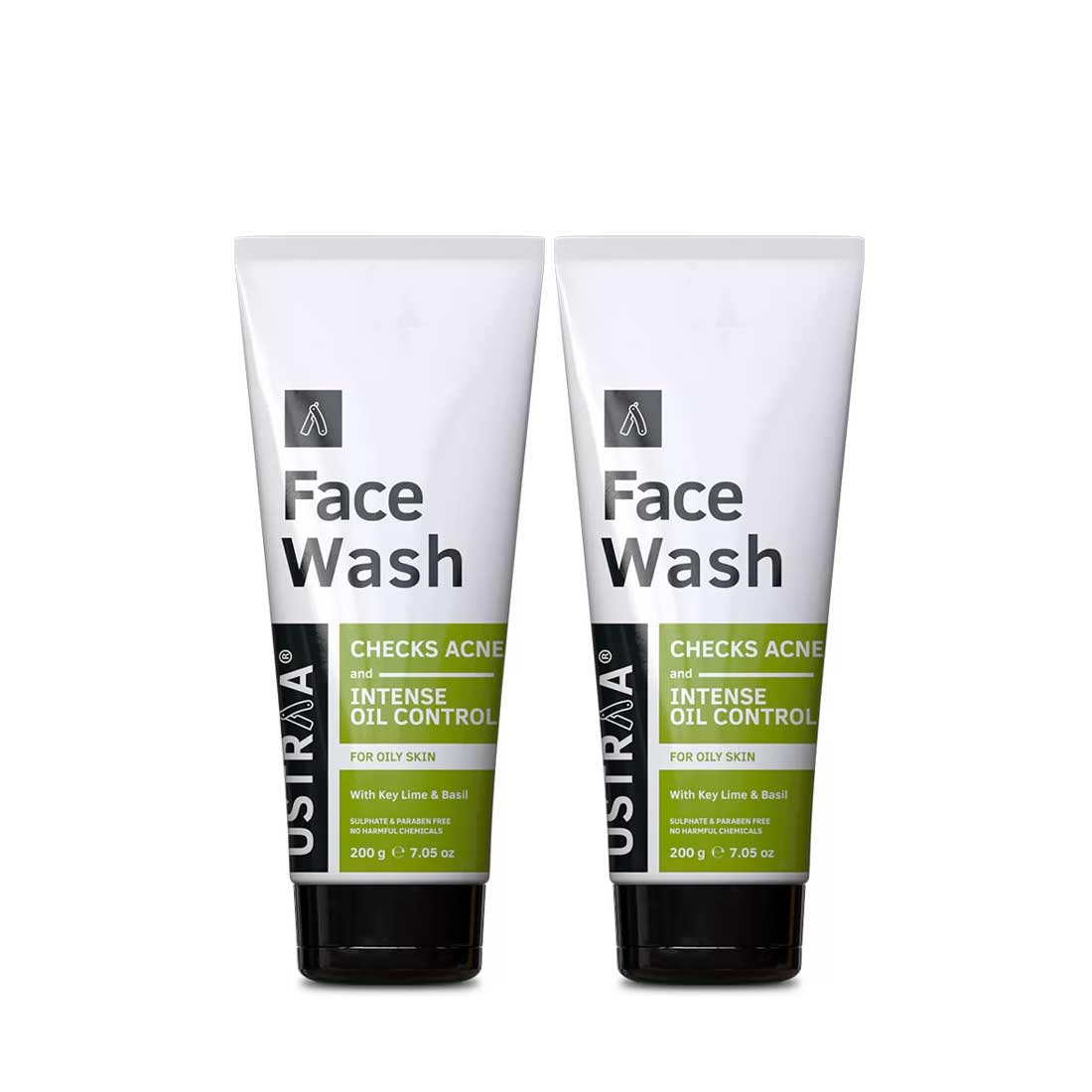 Face Wash - Oily Skin (Checks Acne & Oil Control) - Set of 2