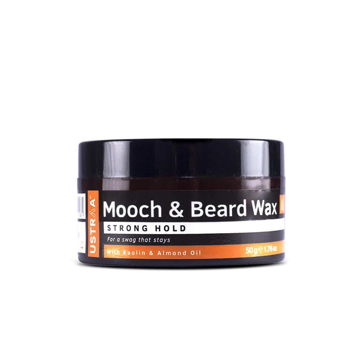 Beard & Mooch Wax - Strong Hold - 50g