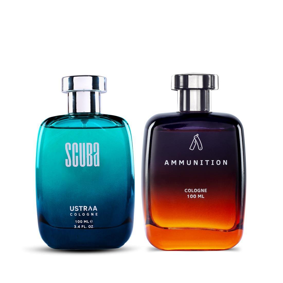 Fragrance Bundle - Scuba & Ammunition - Perfume for Men