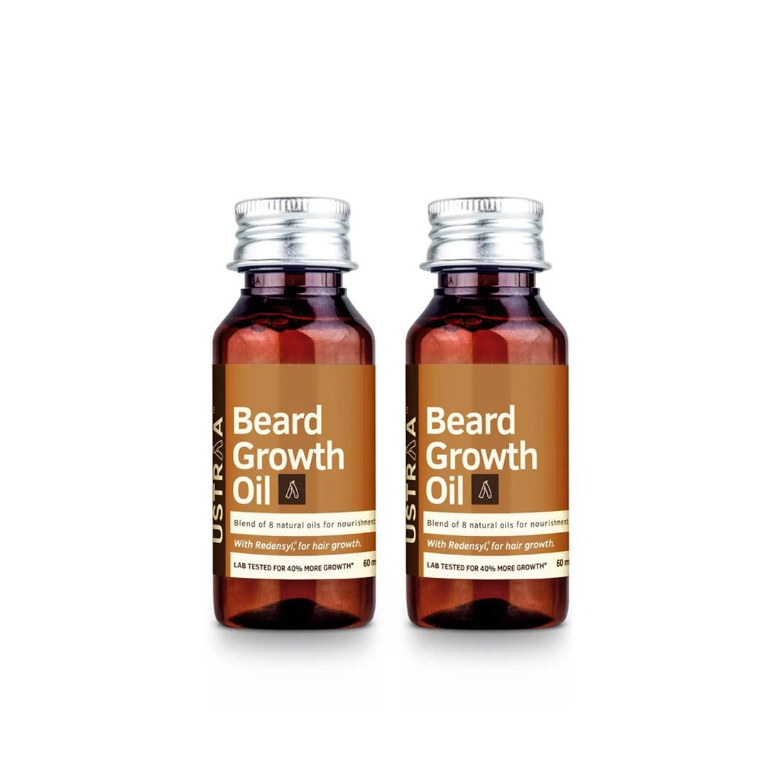 Beard Growth Oil 60ml- Set of 2