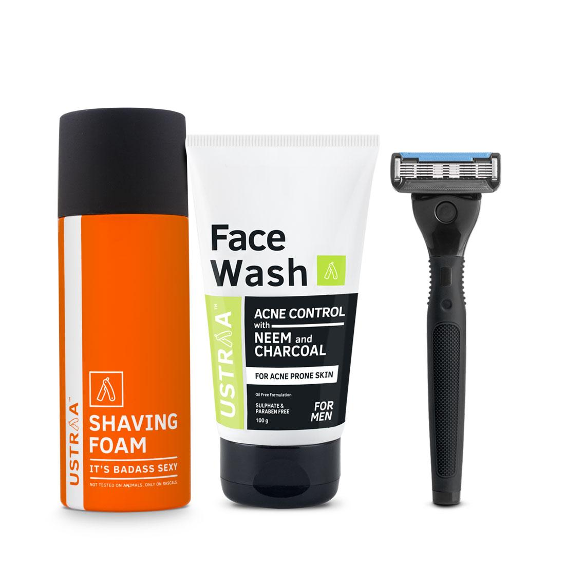Complete Shaving & Cleansing Pack